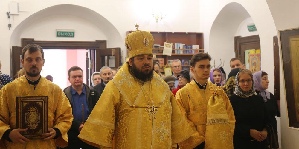 Епископ Чистопольский Игнатий совершил Литургию в храме Живоначальной Троицы в Свиблово