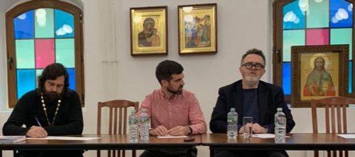 В храме прп. Серафима Саровского в Раеве прошла встреча с американским журналистом Родом Дреером