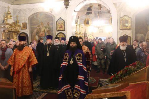 В храме Рождества Пресвятой Богородицы во Владыкине почтили память Священномученика Сергия Станиславлева