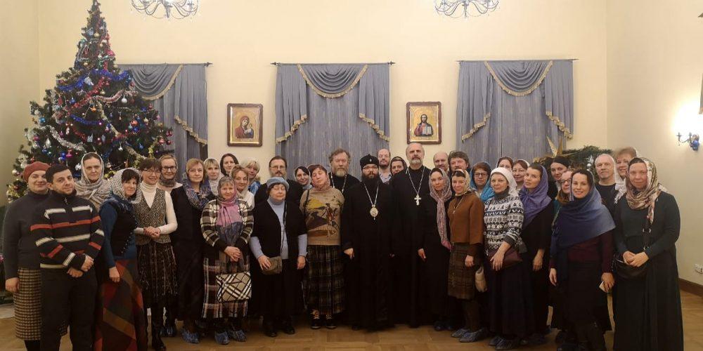 Архиепископ Егорьевский Матфей посетил собрание ответственных за социальное служение приходов Северо-Восточного московского викариатства