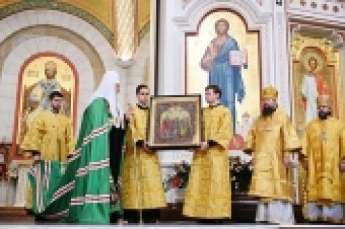 Проповедь Святейшего Патриарха Кирилла в Неделю 25-ю по Пятидесятнице после Литургии в кафедральном соборе Христа Спасителя г. Калининграда