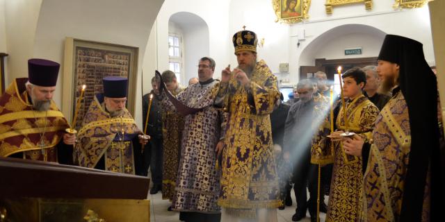 31 марта Епископ Иоанн совершит Всенощное Бдение в Усадьбе Свиблово