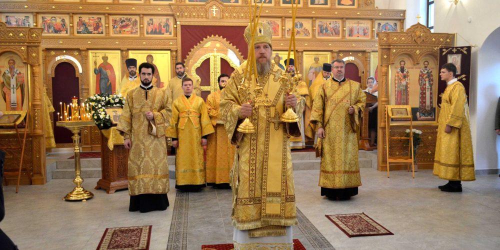 Престольный праздник в храме святой благоверной княгини Ольги в Останкине