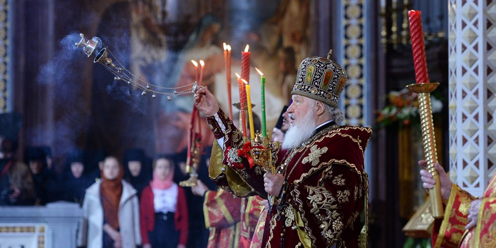 Слово Святейшего Патриарха Кирилла после Пасхальной великой вечерни