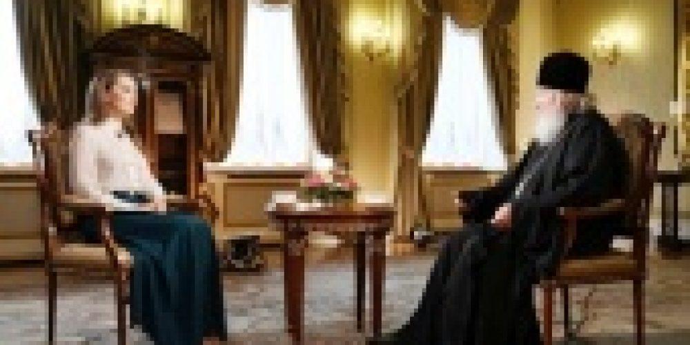 Интервью Святейшего Патриарха Кирилла телеканалу «Россия 24» к 200-летию открытия Антарктиды