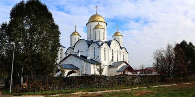 Чин великого освящения храма Торжества Православия в Алтуфьеве г. Москвы