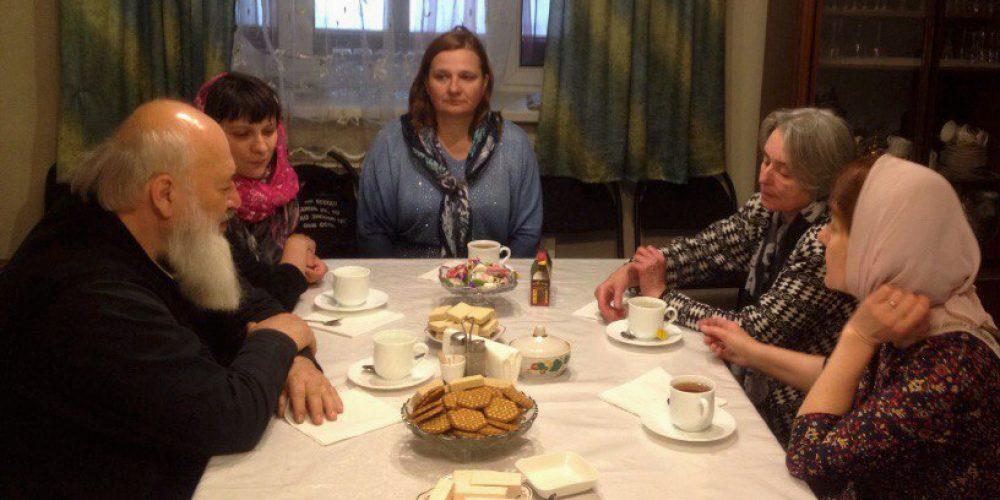 Встреча в рамках методического кабинета для учителей ОПК
