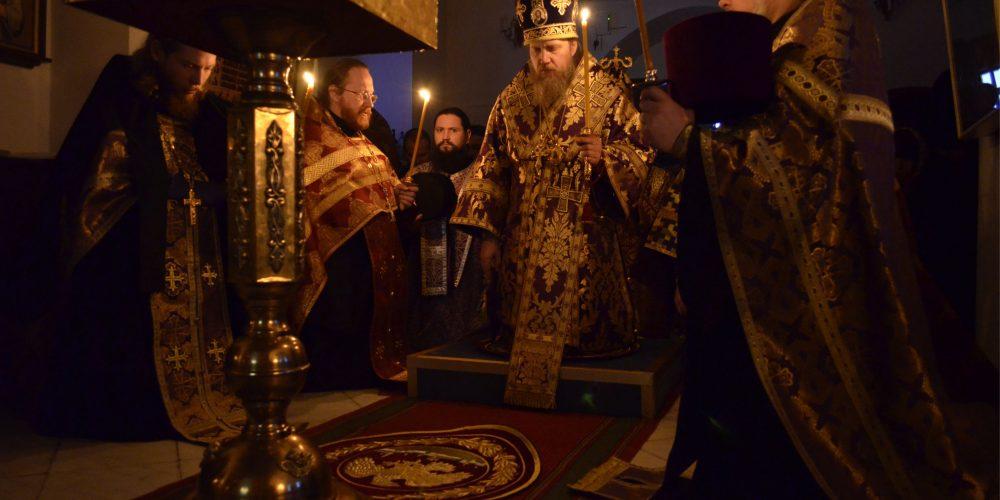Всенощное бдение в храме Живоначальной Троицы Усадьбы Свиблово