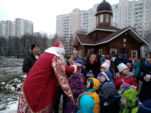 Благотворительная Рождественская ярмарка в поселке Северный