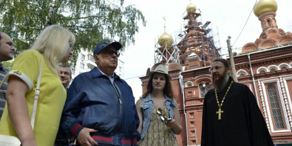 В. И. Ресин совершил объезд строительных площадок храмов СВАО