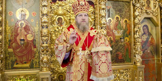 Расписание служения епископа Домодедовского Иоанна на Светлой седмице