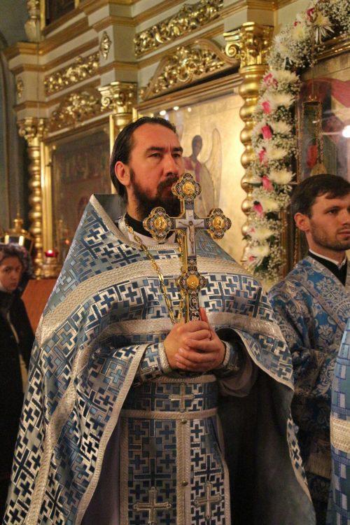 Протоиерей Георгий Климов. Проповедь в день отдания праздника Введения во храм Пресвятой Богородицы