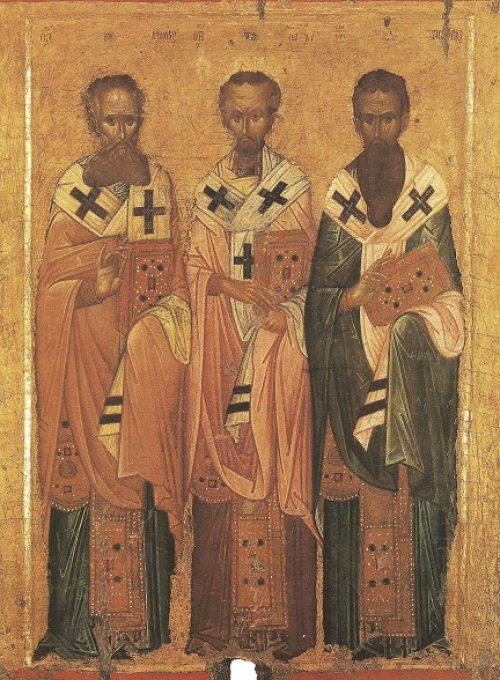 Проповедь в день празднования Собора великих учителей и святителей Василия Великого, Григория Богослова и Иоанна Златоустаго