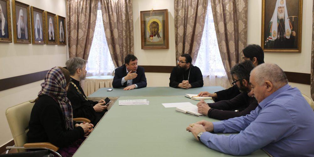 В усадьбе Свиблово состоялось совещание по строительству храмов в Северо-Восточном округе г. Москвы