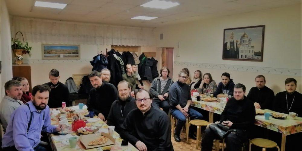 Прошла встреча ответственных за молодежное служение в храме Тихвинской иконы Божьей Матери в Алексеевском