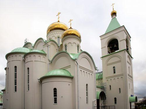 18 марта в храме Андрея Боголюбского совершит богослужение архиепископ Егорьевский Матфей