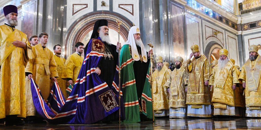 Управляющий Северо-Восточным викариатством принял участие в торжествах по случаю юбилея монашеского пострига Святейшего Патриарха Кирилла