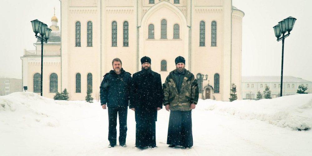 Архиепископ Егорьевский Матфей с рабочим визитом посетил Новосибирскую епархию