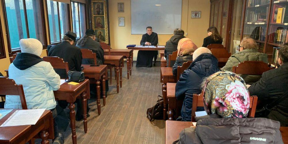 Комиссия по церковной реабилитации лиц, отпавших от Православия провела обсуждение планов на 2020 год в Северо-Восточном викариатстве