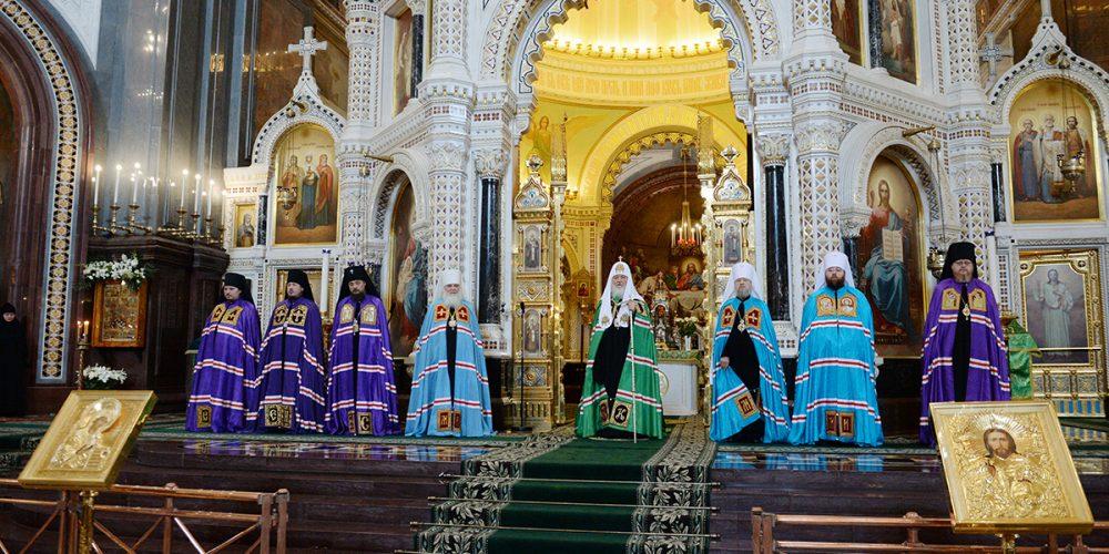 Слово Святейшего Патриарха Кирилла в праздник Входа Господня в Иерусалим