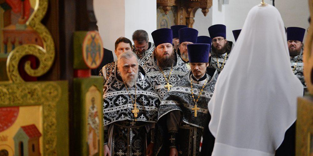Слово Святейшего Патриарха Кирилла в Великий Понедельник