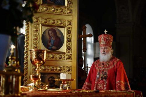 Епископ Иоанн сослужил Святейшему Патриарху Кириллу в день памяти мученицы Татианы