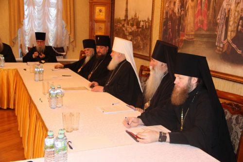 Епископ Иоанн принял участие в заседании Епархиального совета Московской городской Епархии
