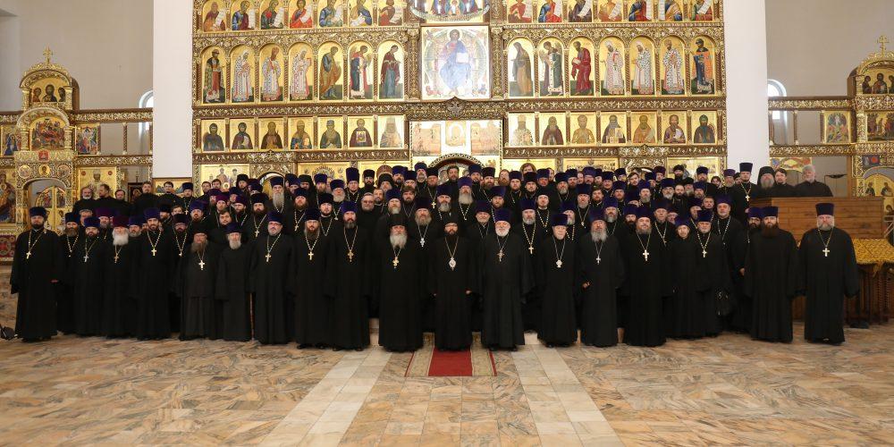 Состоялось собрание духовенства Северо-Восточного и Юго-Восточного викариатств