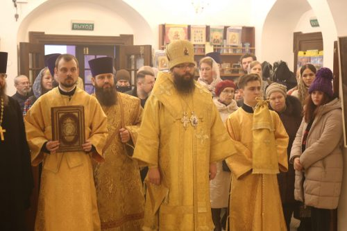 В день празднования памяти апостола и евангелиста Матфея архиепископ Егорьевский Матфей совершил Божественную литургию в усадьбе Свиблово
