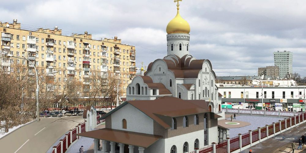 В.И. Ресин и архиепископ Егорьевский Матфей провели совещание по строительству храмов в Северо-Восточном викариатстве