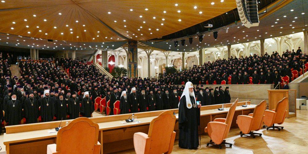 Архиепископ Матфей принял участие в епархиальном собрании города Москвы