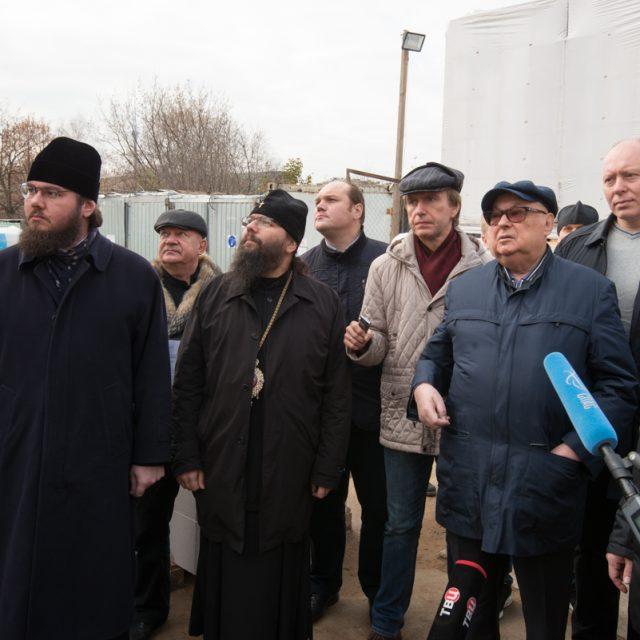 В  Северо-Восточном викариатстве прошло выездное совещание по Программе строительства православных храмов