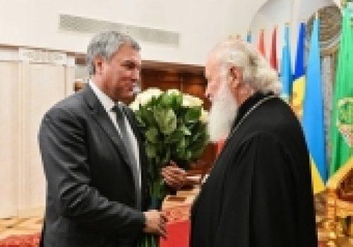 Состоялся торжественный прием по случаю дня рождения Святейшего Патриарха Кирилла