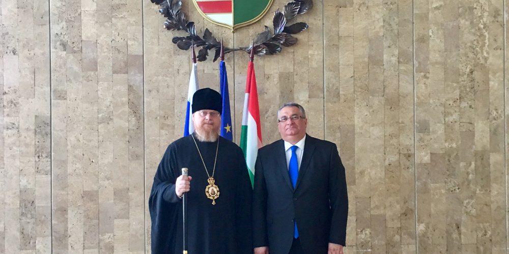 Епископ Подольский Тихон встретился c Послом Венгрии в РФ Яношом Балла