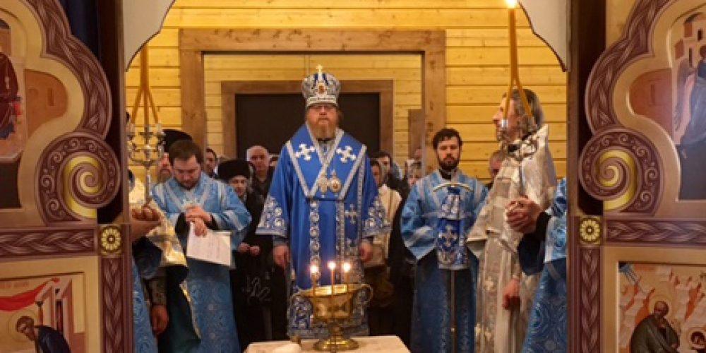 Божественная литургия в праздник Похвалы Пресвятой Богородицы