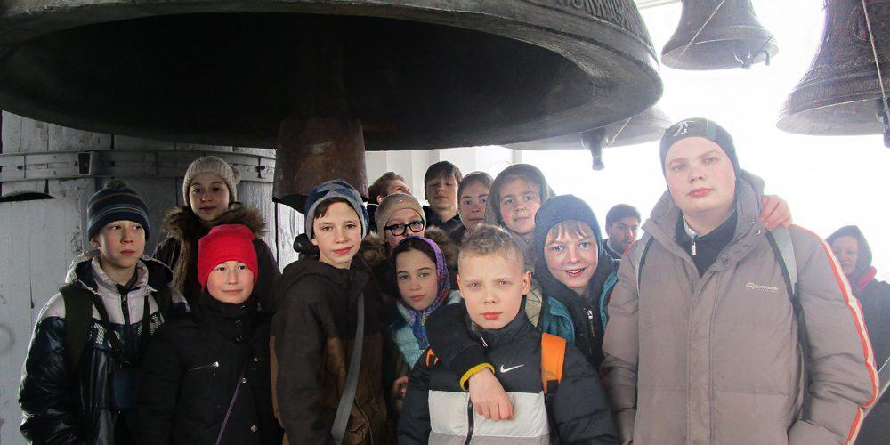Паломническая поездка воспитанников воскресной школы в Свято-Троицкую Сергиеву Лавру