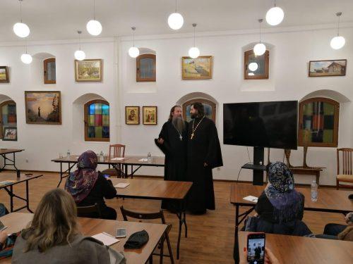 В храме прп. Серафима Саровского в Раеве прошла встреча с протоиереем Артемием Владимировым