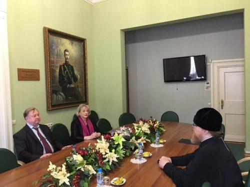 Встреча с председателем ИППО Степашиным С. В.