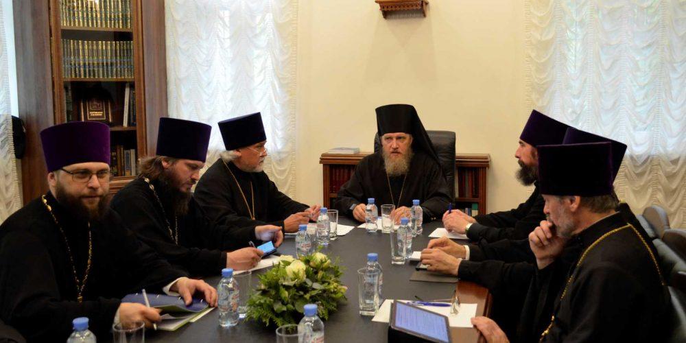 Заседание совета Северо-Восточного Московского викариатства