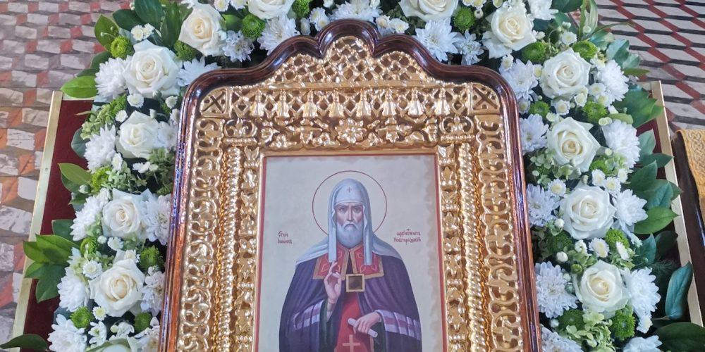 Малый престольный праздник в храме иконы Божией Матери «Нечаянная Радость» в Марьиной роще
