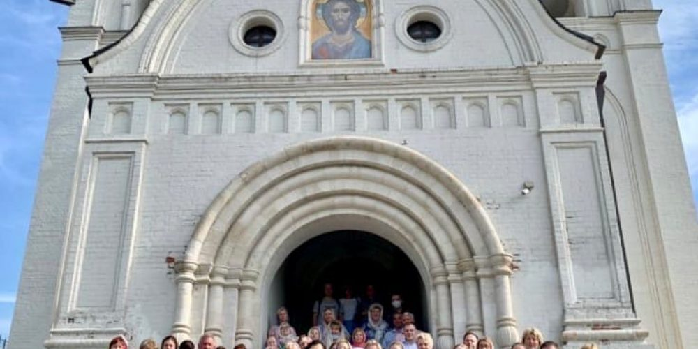 Молебен для преподавателей 1-го Московского образовательного комплекса