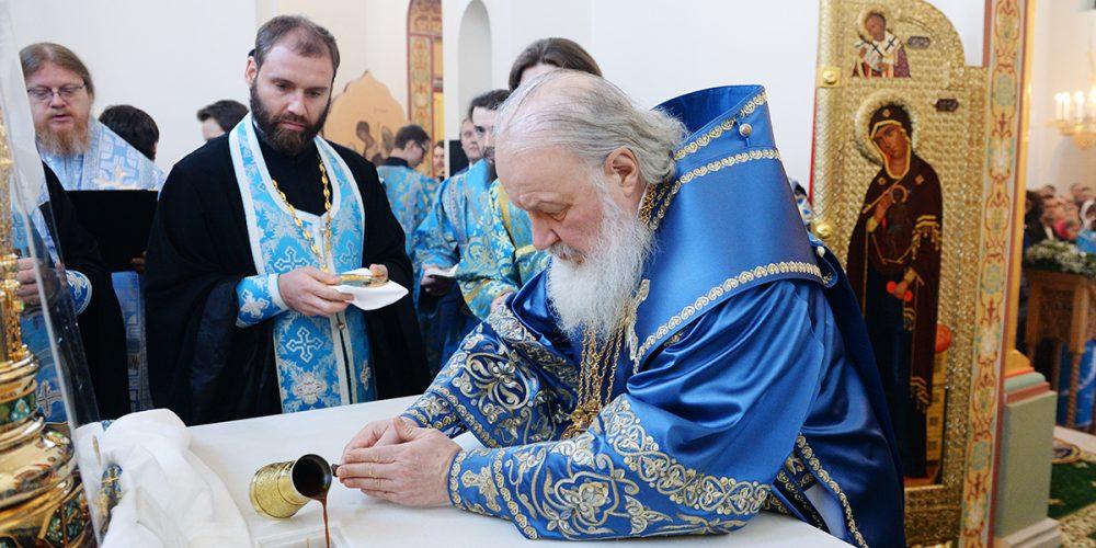 Освящение храма преподобного Серафима Саровского в Раеве