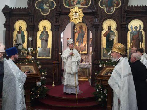 Богослужение в Рождественский сочельник