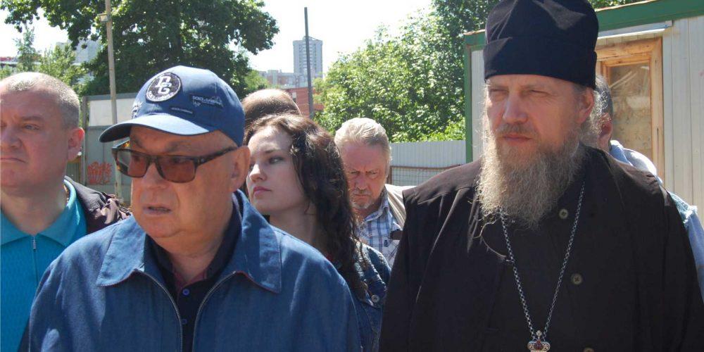 Объезд и выездное совещание по вопросам строительства православных храмов в СВАО