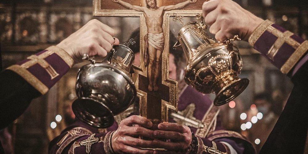 Всенощное бдение в храме Живоначальной Троицы в Останкино