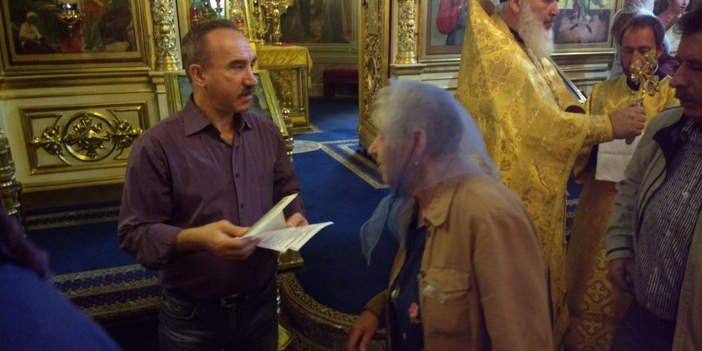 Социальная работа в храме во Владыкине