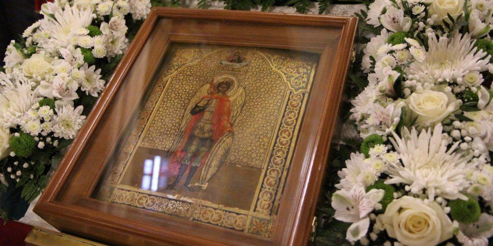 Божественная литургия в храме иконы Божией Матери «Нечаянная Радость»