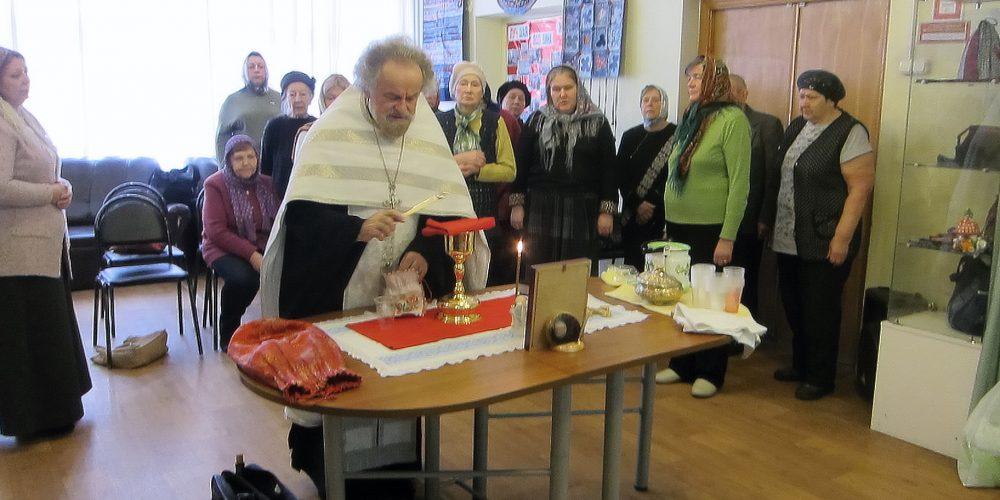 Таинства Исповеди и Причастия в ЦСО «Лианозово»