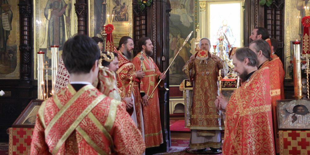 Престольный праздник в Марьиной Роще