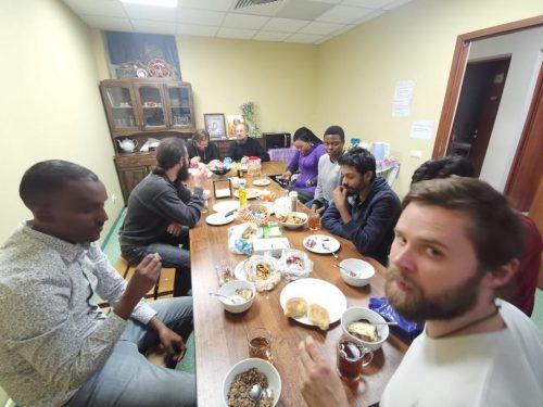Встреча англоговорящей общины храма иконы Божией Матери «Неопалимая Купина» в Отрадном